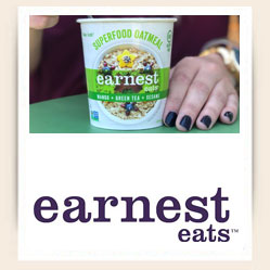Earnest Eats Logo Home