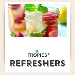 Tropics Refreshers Logo
